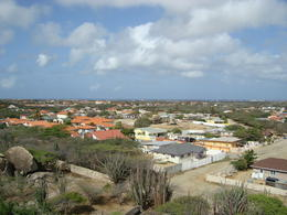 Town view from Casibari Rock, Katiemo - August 2014