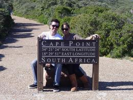 My wife and I in Cape Point, Brian B - September 2010