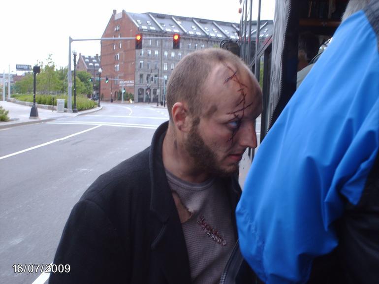Anthrax stalks his prey. - Boston