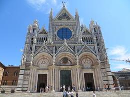 La façade de la cathédrale de Sienne , Jacqueline L - June 2013
