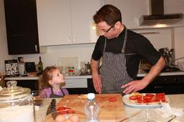 Chef Giovanni and Shae in deep discussion, CRAIG T - May 2010