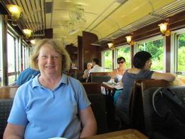 The inside of the train car , Kenneth G - September 2012
