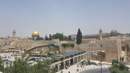 View of the temple mount from Jewish quarter , Maria M - June 2016