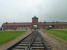 Entrance to Auchwitz II, Alan S - September 2010
