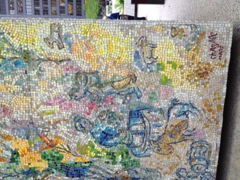 Marc Chagall mosaic - Chicago