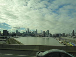 A view of the city skyline of Melbourne. , Trina S - May 2012