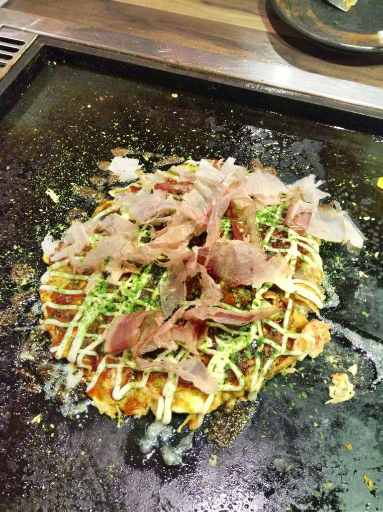 Okonomiyaki Savory Pancake! - Tokyo