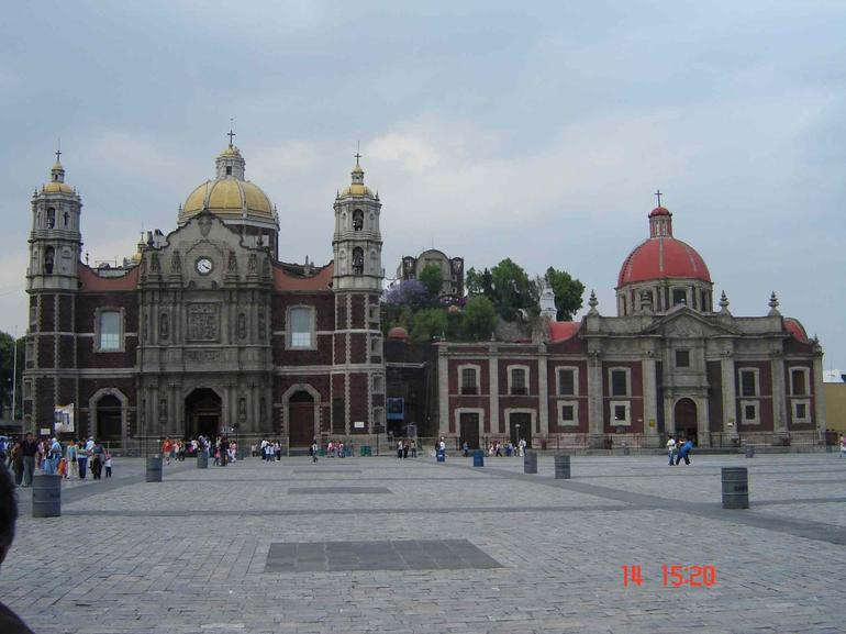 Old Basilica of Our Lady of Guadalupe - Mexico City