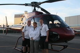 Graham, Jill and our pilot Judd , Graham R - December 2014