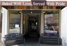 Excellent bakery slogan in the Castro - June 2013