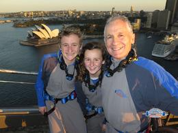 Visiting Sydney for the Harbour Bridge running festival. Ran across it, sailed under it and now climbing over it. Greg ( dad) ran the half marathon Zoe and Sam the family run with Nikki (mum) and..., Gregory H - September 2014
