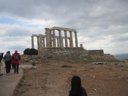 Windy day at Cape Sounion. Be sure to take a jacket! , rasbury1 - June 2016