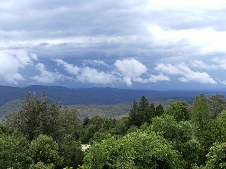 View from Mount Tomah - Sydney