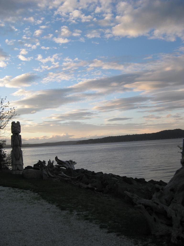 View from Tillicum Village - Seattle