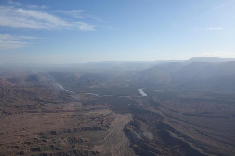 Vue du Colorado à 8h du matin - Las Vegas