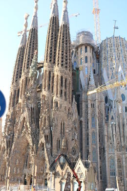 We had a walking tour of the exterior of Sagrada Familia. , Ruffin R - October 2017