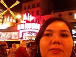 Enjoying my birthday at Moulin Rouge , Roshy - January 2018