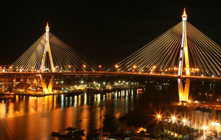Bangkok Bridge, Chao Phraya River cruise - Bangkok