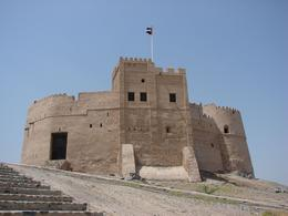 The fort at Fujairah -- well worth a look from the outside even though the internal renovations mean it is currently indefinitely closed., Paul M - May 2009