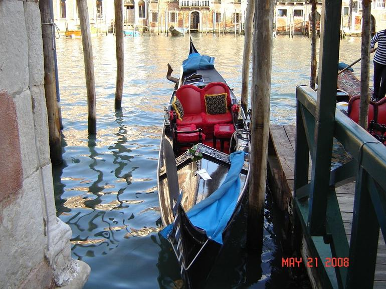 Gondola in Venice - Venice