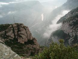 Just one of many great views from Montserrat. - January 2008