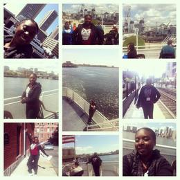 On the cruise around Boston Harbor. , Natashia L - May 2014