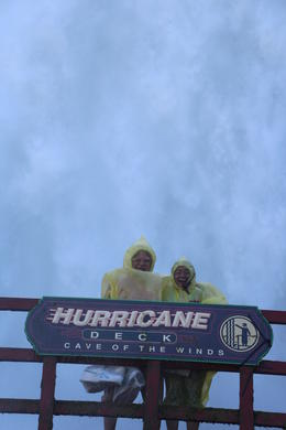 At the Hurricane Deck at the Cave of the Winds , k.shankar - September 2014