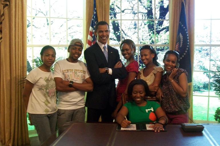 In the Oval Office - New York City