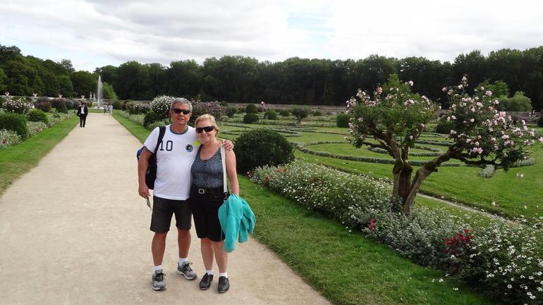 Jardins do Palacio Chenonceau - Paris