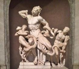 A lot of sculptures at the Vatican museums, this one being one of the more famous. Stunning art all around. , Laura L - June 2014