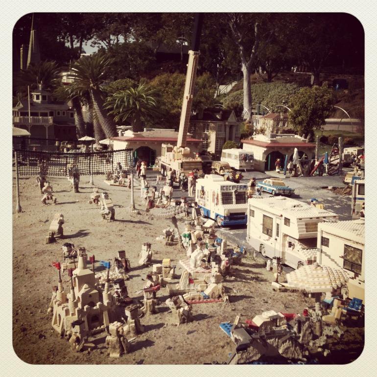 Legoland Beach Scene - San Diego