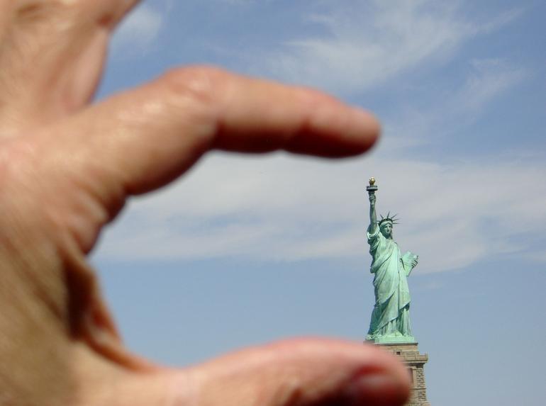 ma statue de la libert� - New York City