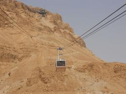 Cable car to Masada, Timetable Tim - August 2010