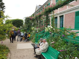 This is during the free time at Monet's Gardens. , Megan E - June 2012