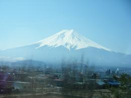 This was one of my first images of Mt Fuji from the bus, such an impressive sight!!!, Kathryn C - March 2008