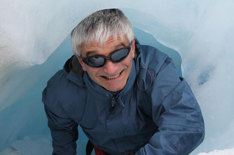 Peek a boo - Franz Josef & Fox Glacier