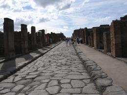 Pompeii street - October 2007