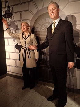 A political power couple, President Bill and future president? Hillary Clinton , Mary H - May 2015