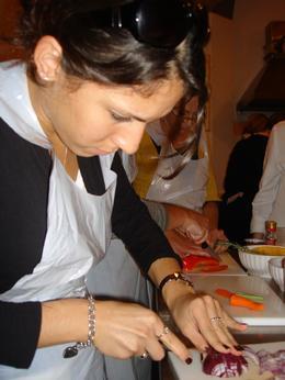 Adela learns to cook! - November 2008