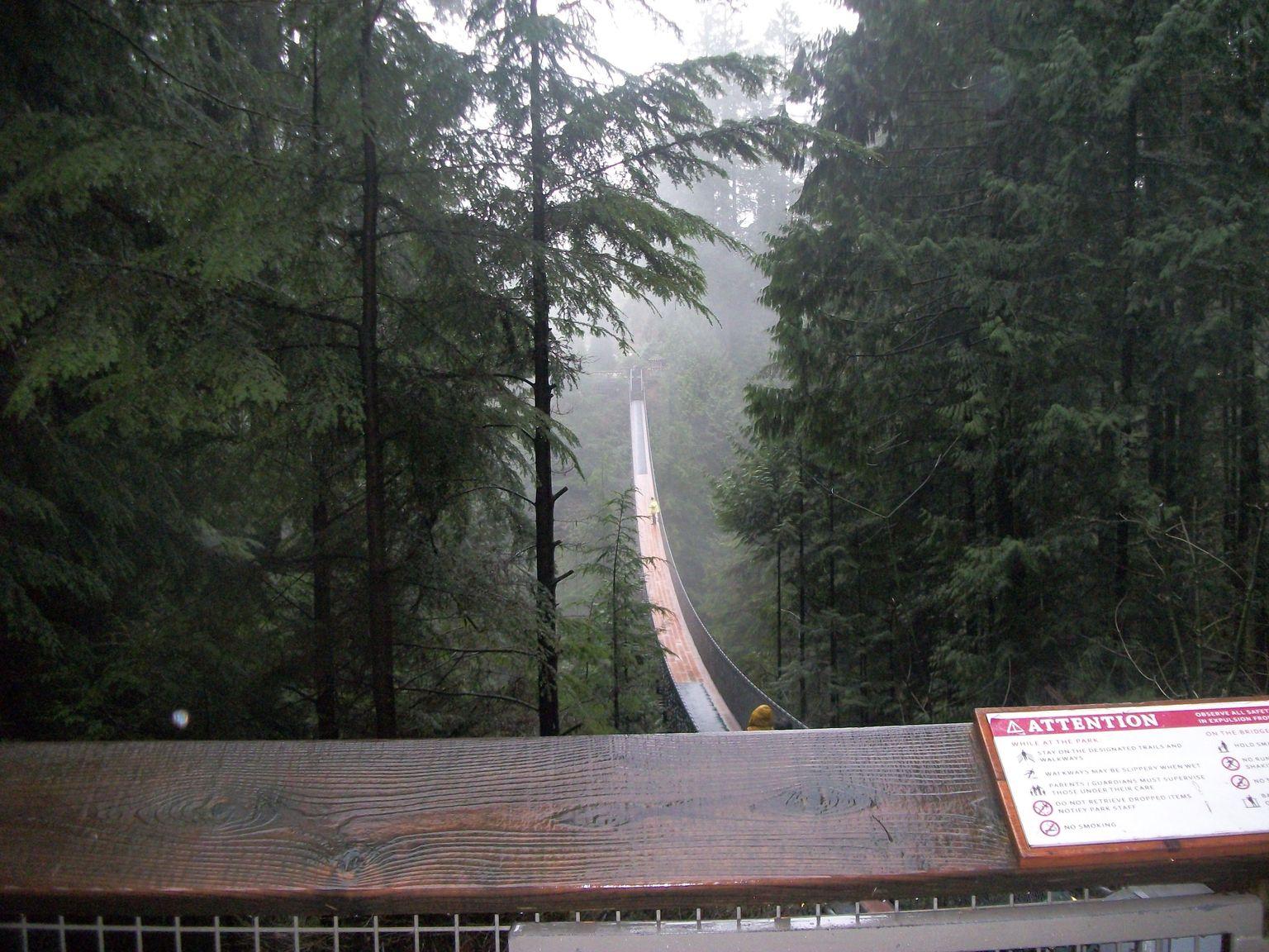 MÁS FOTOS, Recorrido por Vancouver con el puente colgante de Capilano
