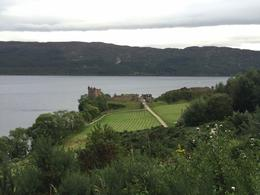 Last stop of the tour - The ruins of the Urquhart Castle and Loch Ness , Anna C - September 2016