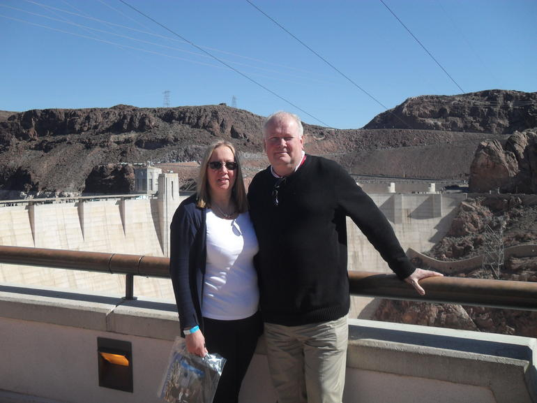 Top of the Hoover Dam - Las Vegas