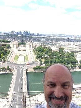 Me taking a selfie, looking north , Gary P D - June 2014