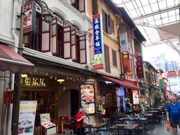 Food court in Cross Street Chinatown , Eike K - November 2017
