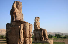 Colossi of Memnon - Valley of the Kings, Luxor - June 2011