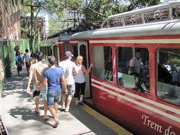 Corcovado Trem ride , Willem Hoffmann - September 2015