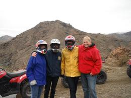 A pit stop at the top, Megan, Casey, Alex and Sam , Samantha F - January 2012