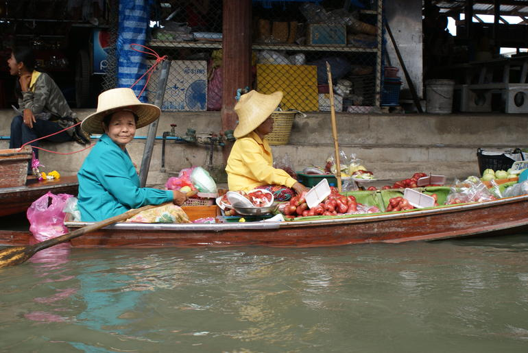 Floating Market Vendor - Bangkok