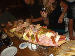 Food platter at Hofbraukeller. We couldn't finish it between 10 people!, Andrew B - August 2009