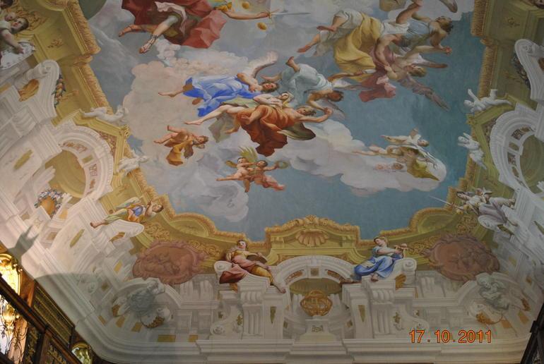 Frescos at Melk Abbey - Vienna
